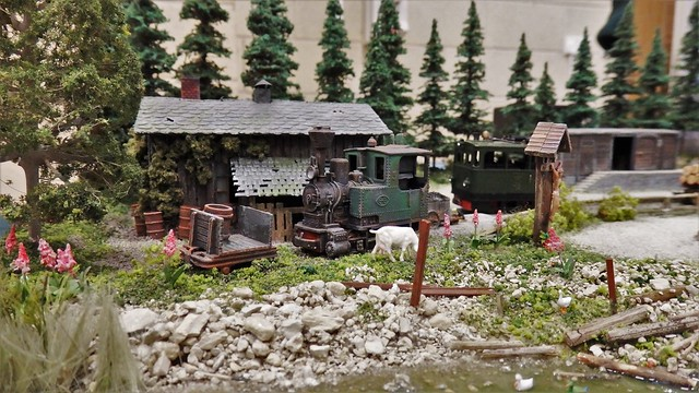 Am Muhlendamn. Model Railway / Diorama.