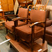 Tall fireside armchair E40 each
