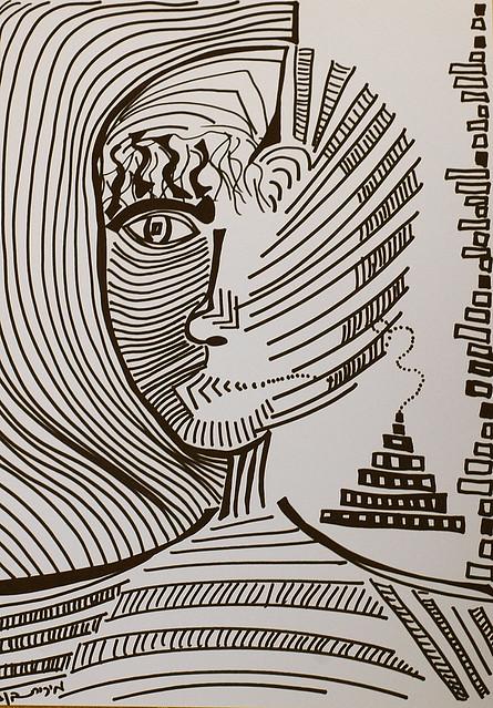 painters painting women drawings israel modern art
