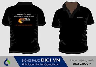 Áo đồng phục của CAM media Kinh tế Đà Nẵng