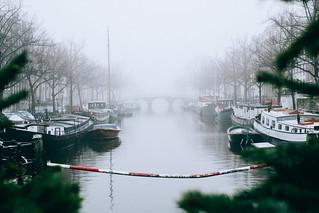 Amsterdam, Fog   by Amsterdamming