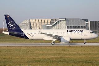 A320 Neo Lufthansa D-AUAB D-AINO   by michelfetzer