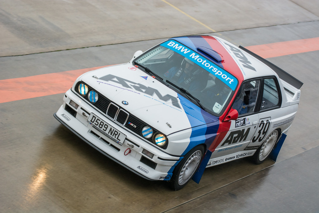 Bmw M3 E30 Rockingham Stages Rally 2018 1st December 2