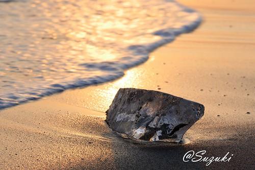 beach hokkaido jewelryice nature winter wintersea sea ice ジュエリーアイス cold seascape sunset japan