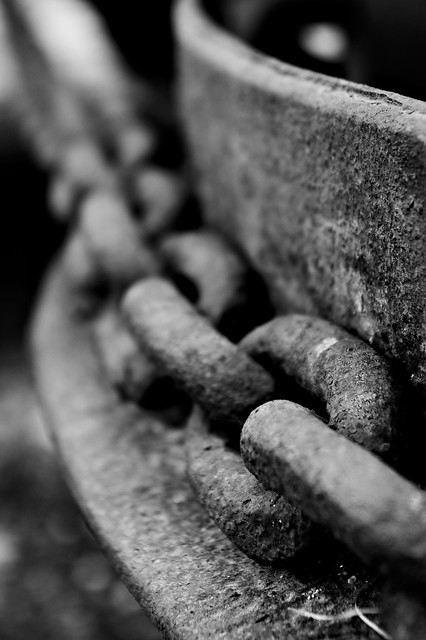 Never loved chains, of any kind.