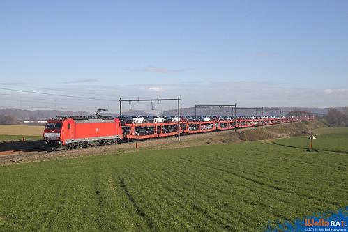 186 330 DB Cargo . E 47528 . Berneau . 23.11.18.