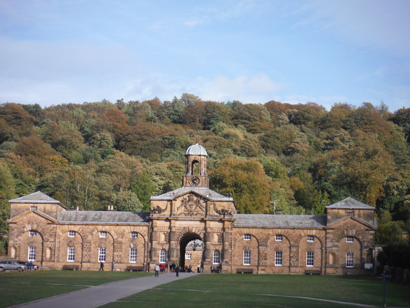 The Stables, Chatsworth Estate SWC Walk 322 - Grindleford Circular (via Chatsworth House)