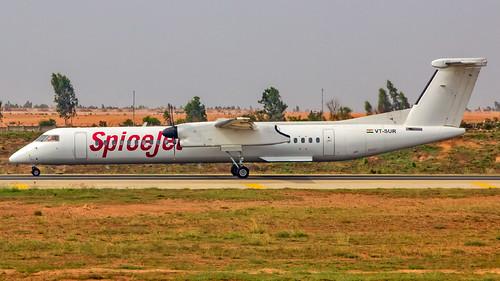 SpiceJet Bombardier Q400 VT-SUR Bangalore (BLR/VOBL)