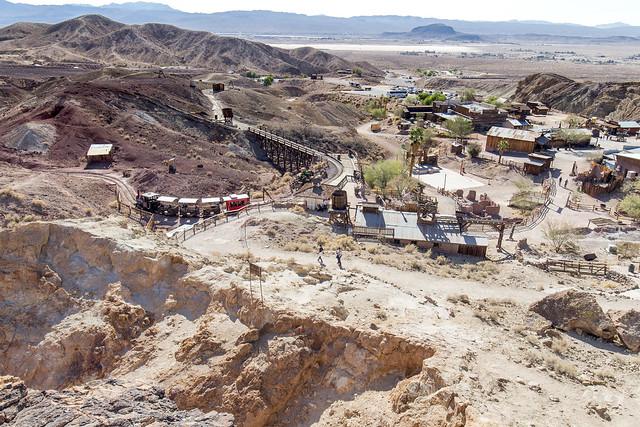 Old Town Calico Panorama - Nevada, USA
