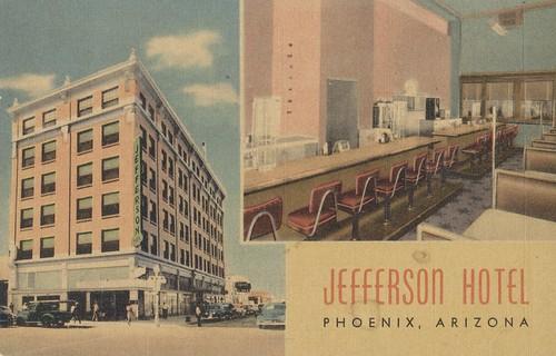 Jefferson Hotel - Phoenix, Arizona | by The Cardboard America Archives