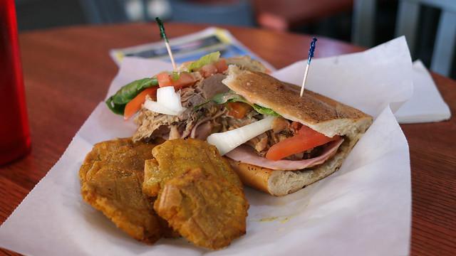 Tripleta Sandwich Puerto Rico Restaurant in Windsor Heights Iowa