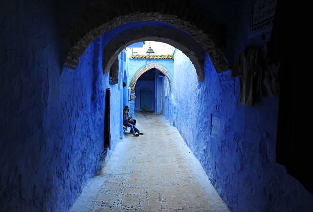 Chefchaouen, Morocco, January 2019 D700 390