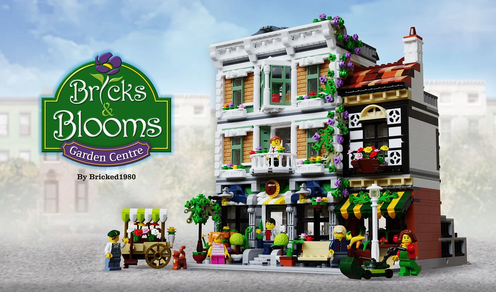 Bricks & Blooms - LEGO IDEAS