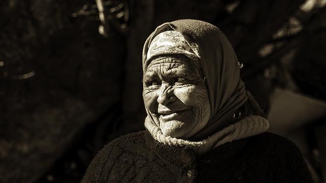 Raramuri old woman