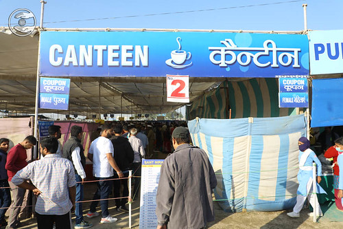 A view of Canteen in Samagam Ground