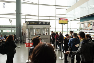 Queues for boarding | by A. Wee