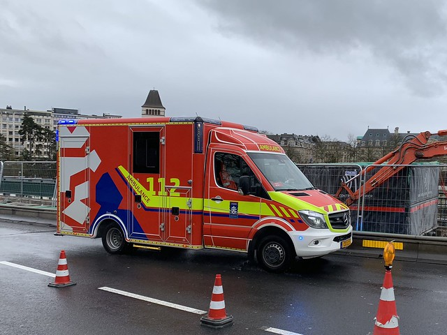 Mercedes Benz Sprinter Ambulance - Luxembourg City, Luxembourg.