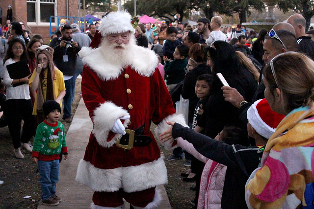 Santa on the Square 2018 - Kyle, Texas
