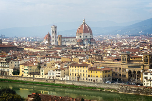 View to Florence from Piazzale Michelangelo   by Tigra K
