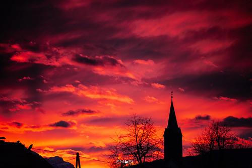 wernberg austria österreich nikond800 samyang13520 sunset sonnenuntergang church kirche