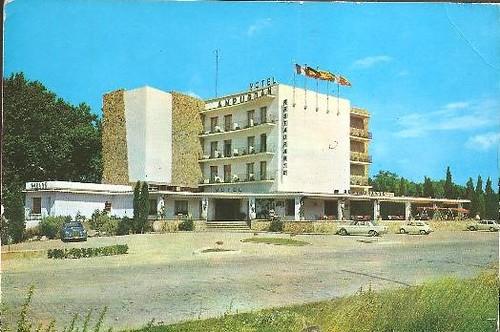 Motel Ampurdan Figueres anys 1960