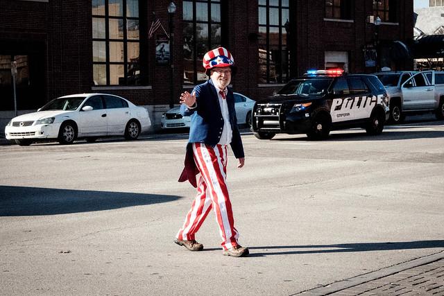 Veterans Day  2018 - Uncle Sam Arrives