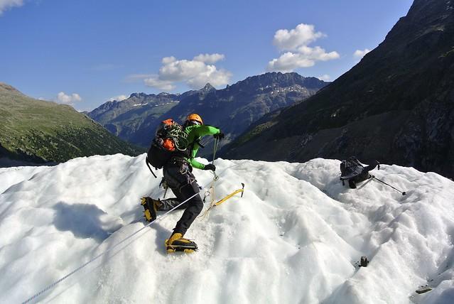 Bernina, C2 gevorderdencursus sneeuw en ijs