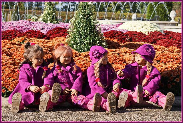 Kindergartenkinder ... der Tag wird schön ...