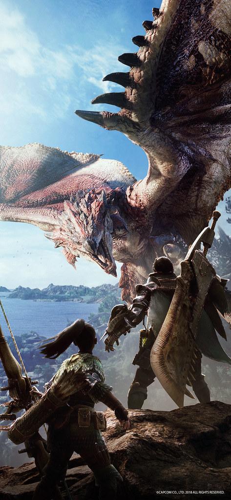 Monster Hunter World Wallpaper Playstationblog Flickr