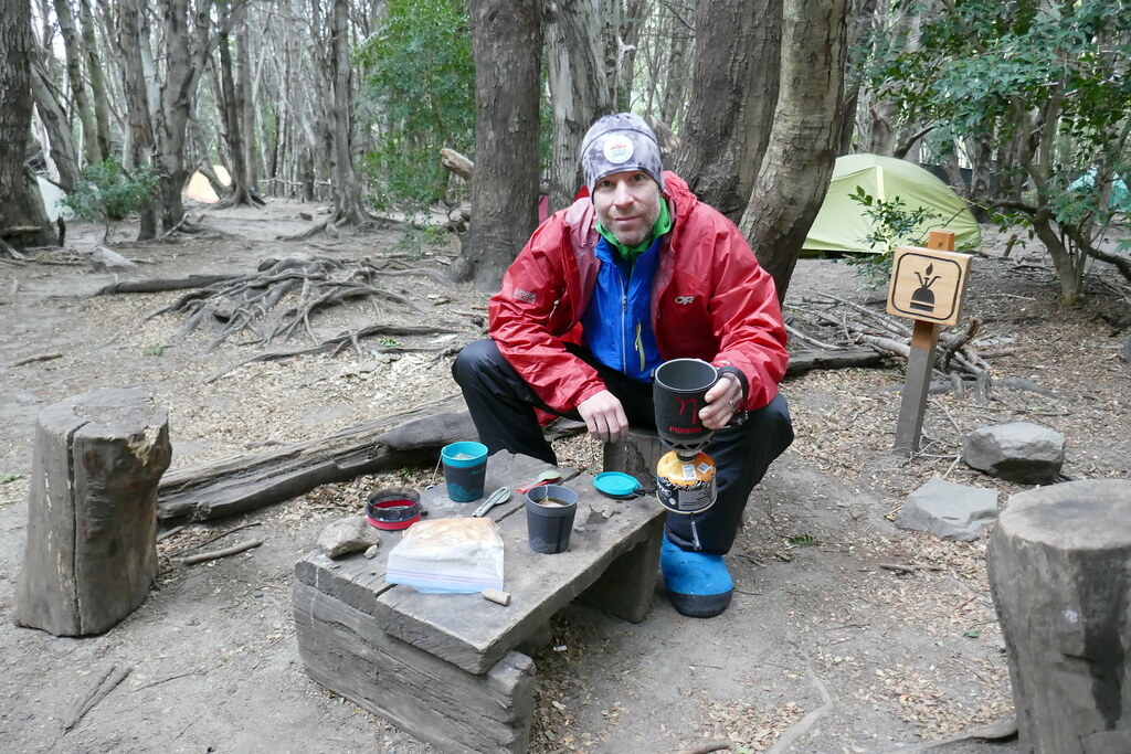 Tea and Snack Time back at Camp