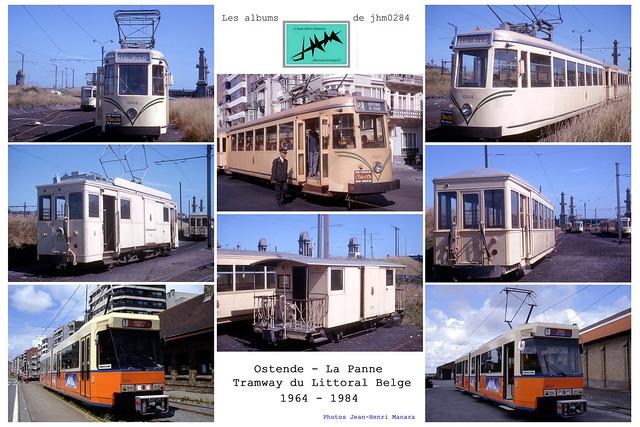 JHM-Multiple - 1964-1984 Tramway Ostende - La Panne