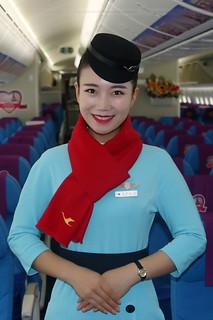 hôtesse Xiamen Air