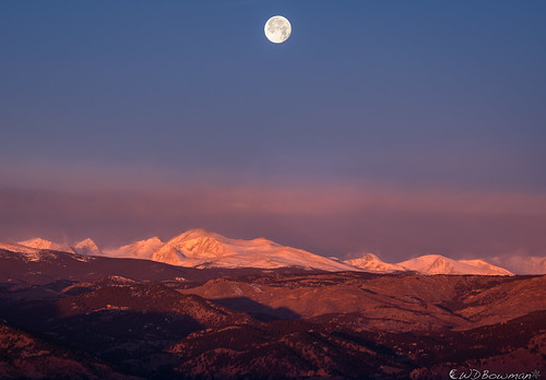 fullmoon coldmoon wintersolstice continentaldivide sunrise winter