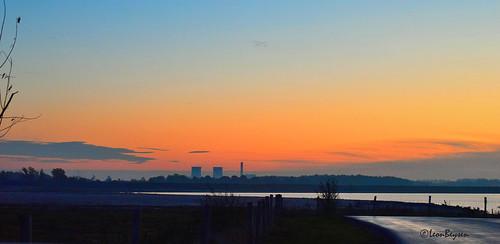 skyline himmel dämmerung limburgslandschap