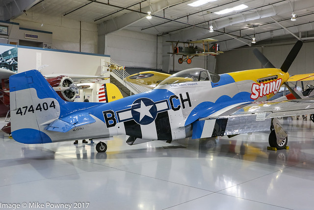 NL151RJ - 1944 build North American P-51D Mustang, displayed with the Commemorative Air Force Museum Arizona Wing
