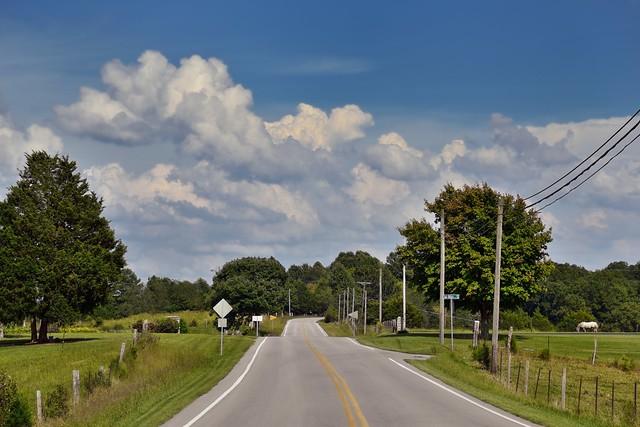 Small Town Roads of Kentucky