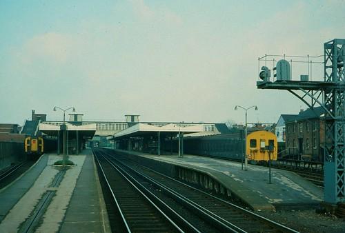 Horsham station in 1976 | by Tom Burnham