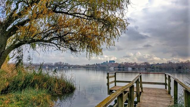 Nostalgia en el lago de Banyoles. Girona (Catalunya)