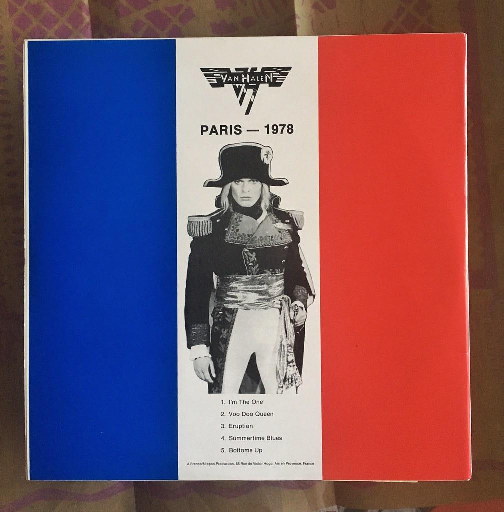 Official Bootleg Vinyl : Van Halen PARIS 1978 OSAKA 1979 L… | Flickr