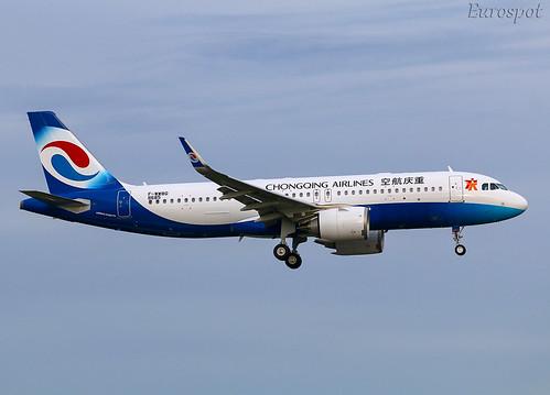F-WWBQ Airbus A320 Neo Chongqing | by @Eurospot