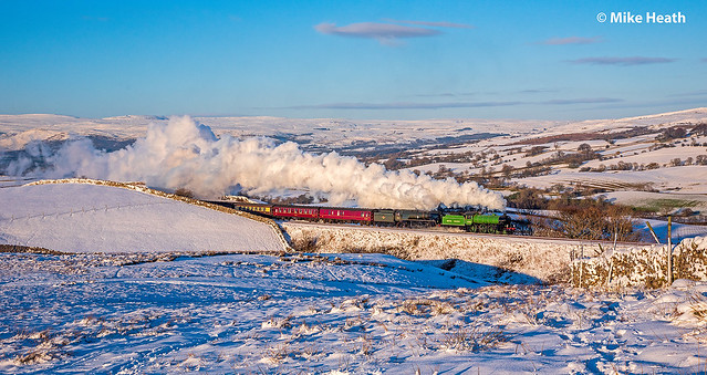 61306 + 35018 - Cumbrian Mountain Express - 2 February 2019 (6 of 6)