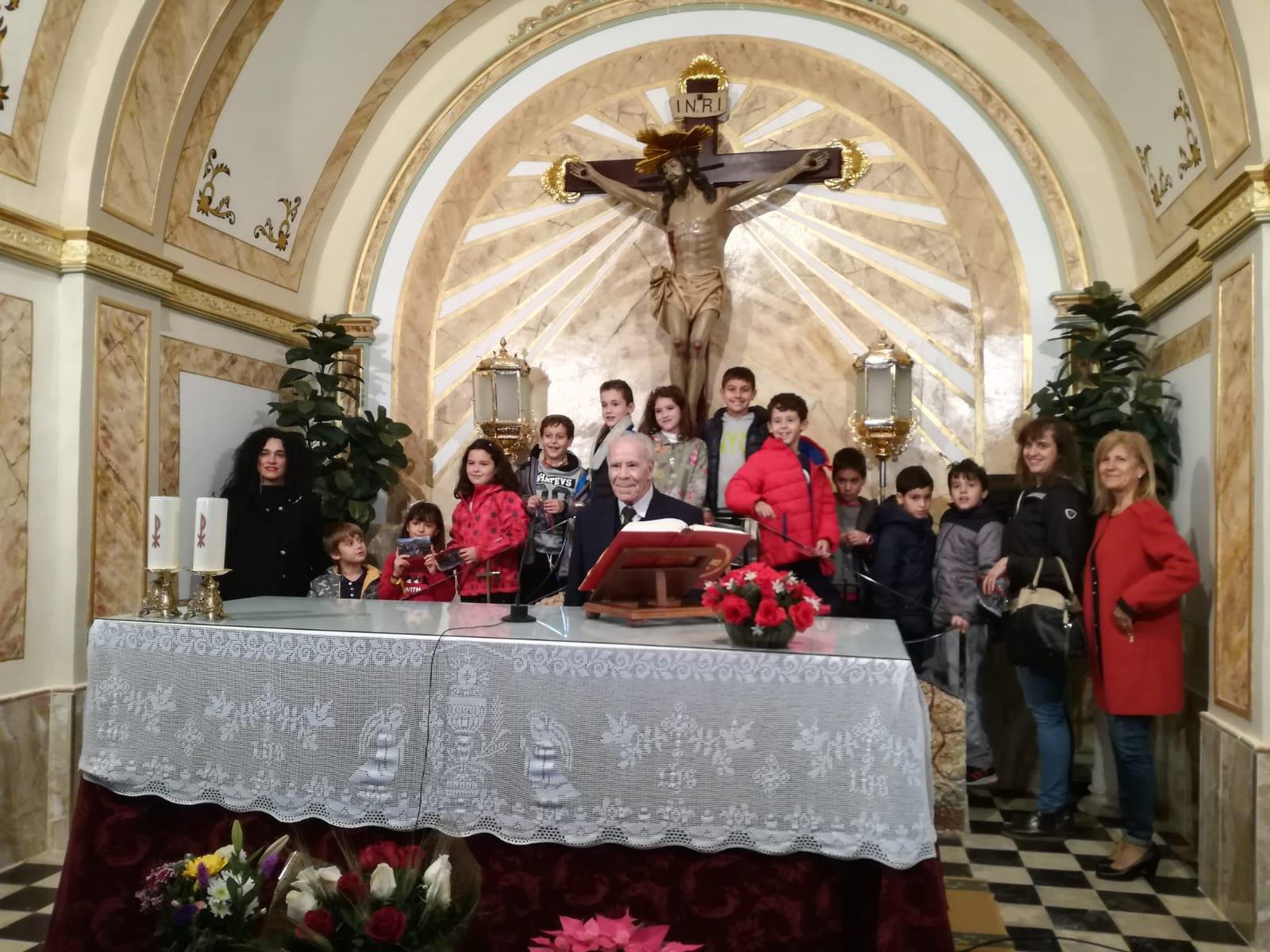 (2018-11-23) - Visita ermita  Esther-Maria Mercedes,2º,Catequesis - Vicente Rico (15)