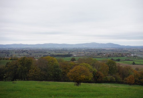 Malvern Hills, from Battens Wood SWC Walk 323 - Evesham to Pershore (via Dumbleton and Bredon Hills)
