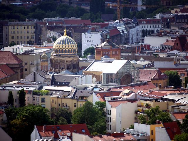 Berlin Synagogue-eye view