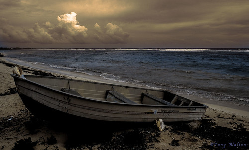 boat in bodden town cayman islands | by Tony - Walton