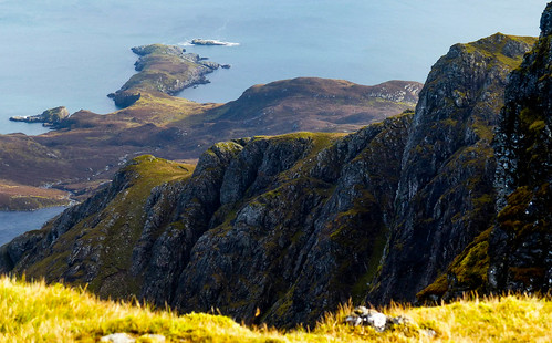 Cliffs and Corradail bay | by scotlandmac