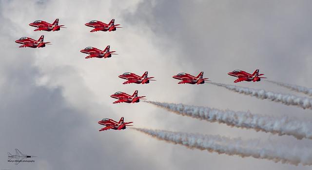 RAF display team the