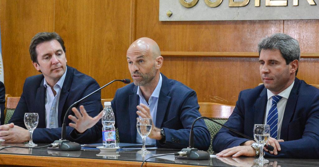 2018-12-12 PRENSA: Conferencia de Prensa Con el Ministro de Transporte de la Nación