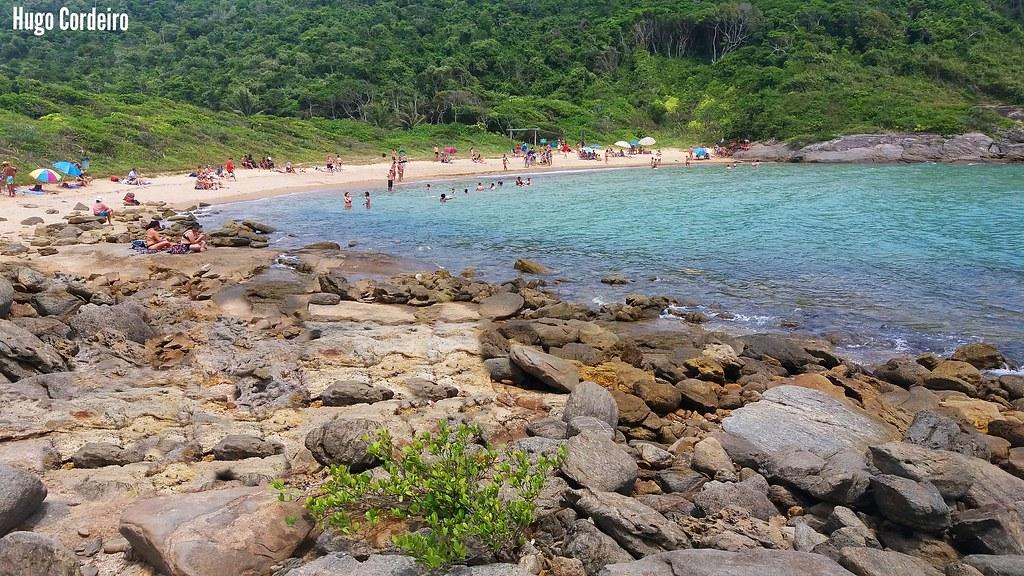Praia do Ermitão em Guarapari
