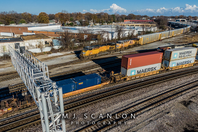 UP 6284 | GE AC4400CW | UP Memphis Subdivision